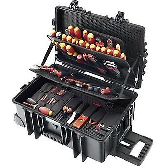 Electrical contractors Tool box (+ tools) 115-piece Wiha Meister