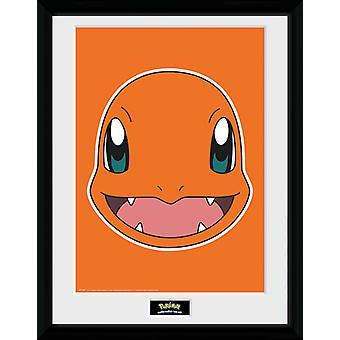 Pokemon Charmander ansiktet samler Print