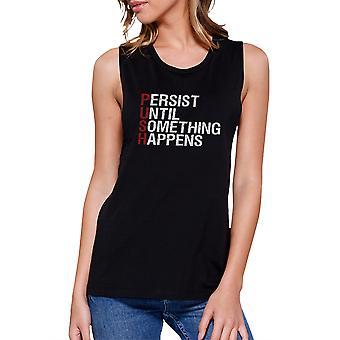 Drücken Sie trainieren Muskel T-Shirt Frauen Workout Gym ärmelloses Tanktop