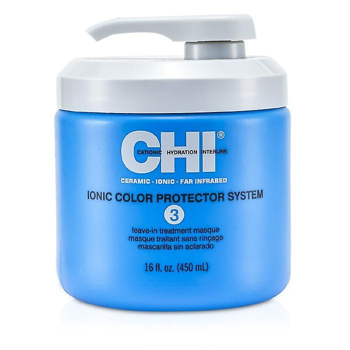 CHI Ionic Color Protector System 3 Leave In Treatment Masque 450ml / 16oz