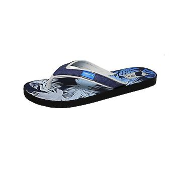 Rider Shape Mix Thong Mens Flip Flops / Sandals - Blue