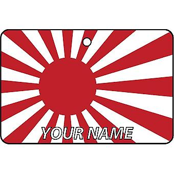 Personalized Japanese Navy Ensign Car Air Freshener