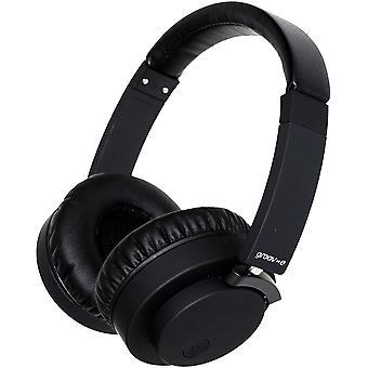 Groov-e Fusion kablet eller trådløs Bluetooth-hodetelefoner - svart (GVBT400BK)