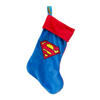Official DC Superman Christmas Stocking