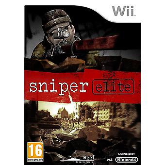 Sniper Elite Nintendo Wii Game