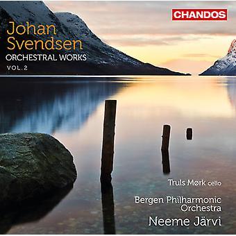 Johan Severin Svendsen - Johan Svendsen: Orkesterverk, Vol. 2 [CD] USA import