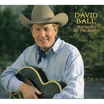 David Ball - Heartaches door het nummer [CD] USA import