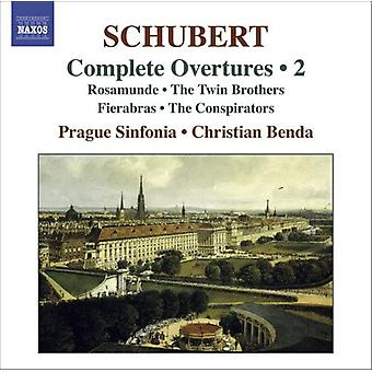 F. Schubert - Schubert: Complete Overtures, Vol. 2 [CD] USA import