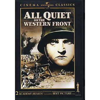 All Quiet on the Western Front (1930) [DVD] USA import