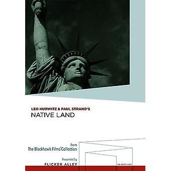Native Land [DVD] USA importerer