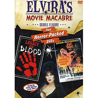 Elvira - Devils Wedding Night/Legacy of Blood [DVD] USA import