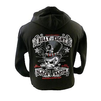 Billy Eight - BLACK BARON - Mens Hoodie - Black