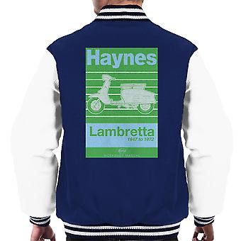 Haynes Owners Workshop Manual Lambretta 47 To 72 Men's Varsity Jacket