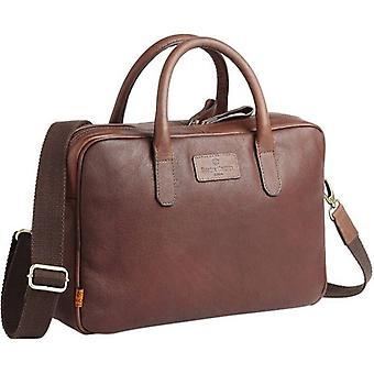 Simon Carter Hove Laptop Bag - antikke Tan