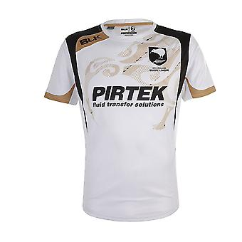 BLK NZRL kiwis rugby league training T-Shirt 2015 [white]