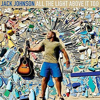 Jack Johnson - All the Light Above It Too [Vinyl] USA import