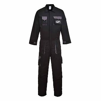 sUw - Texo Stylish Versatile Workwear Cotton Rich Contrast Panel Coverall