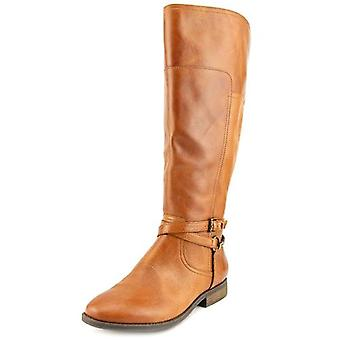 Marc Fisher Women's Alexis Round Toe Leather Knee High Boot