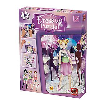 König Dress Up Party Jigsaw Puzzle