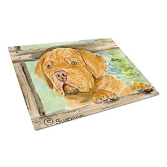 Carolines Treasures  SS8926LCB Dogue de Bordeaux Glass Cutting Board Large