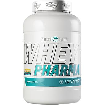 Natural Health Pharma Whey Vanilla Flavor 908 gr (Sport , Muscle mass , Proteins)