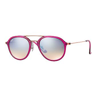 Ray - Ban RB4253 Medium Fuchsia gloss/Bronze mirrored gray gradient