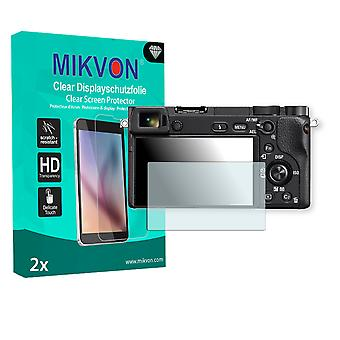 Sony Alpha 6300 Screen Protector - Mikvon Clear (Retail-Paket mit Zubehör)