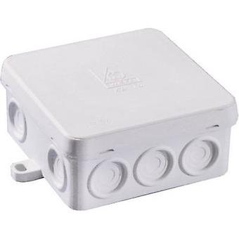 Junction box (L x W x H) 83 x 83 x 40 mm Wiska 10060550 Grey (RA