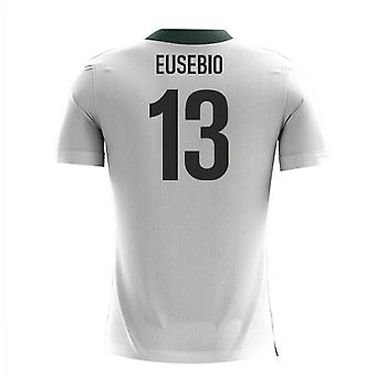 2018-2019 Portugal Airo Concept Away Shirt (Eusebio 13)