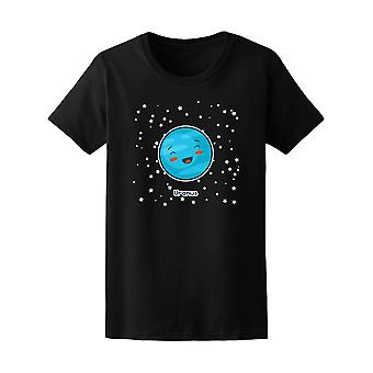 Kawaii Space Uranus Planet Tee - Image by Shutterstock