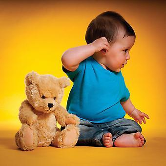 Larkwood Unisex Baby toddler Colours Short Sleeve Cotton Crew Neck T-shirt