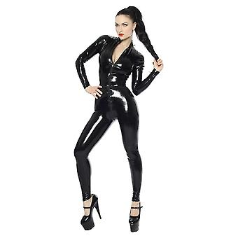 Westward Bound Aphrodite Latex Rubber Catsuit. Black