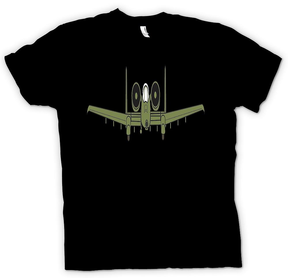 Mens t-shirt - A10 Tankbuster Do Ya Feel Lucky Punk
