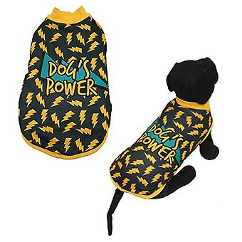 MI&DOG Abrigo Capa Felpado Dogs Power T-35 (Dogs , Dog Clothes , Coats and capes)