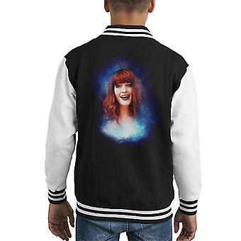 Florence Welch Live Lounge Maida Vale 2009 Kid's Varsity Jacket