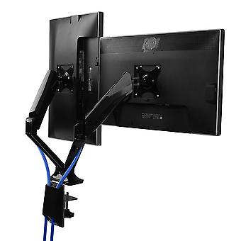 Fleximounts F6D Dual Monitor Mount LCD Arm para 17-30 pulgadas