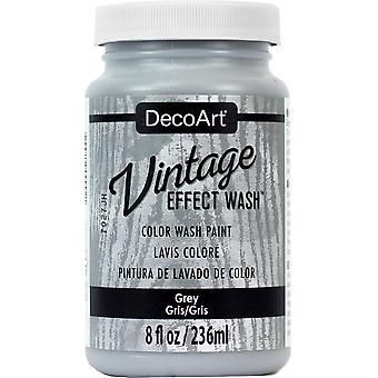 Vintage Effect Wash Paint 8Oz-Grey