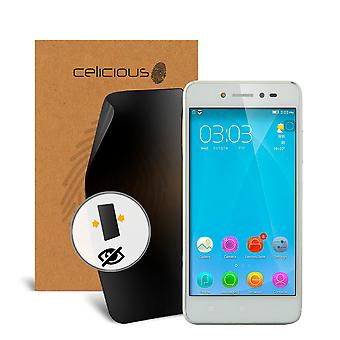 Celicious Privacy 2-Way Visual Black Out Screen Protector for Lenovo S90 Sisley