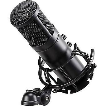 Renkforce ST-60 USB USB studio mikrofon włącznie z shock mount, z przewodem