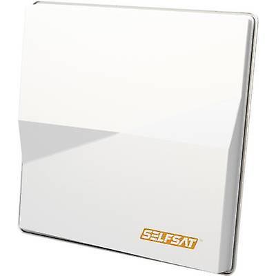 SelfSat double H50M Twin SAT antenne 80 cm blanc