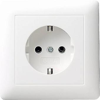 GIRA indsætte PG socket System 55, Standard 55, E2, begivenhed, Event transparent, Event uigennemsigtig, Esprit, Klassix ren hvid (blank) 044003