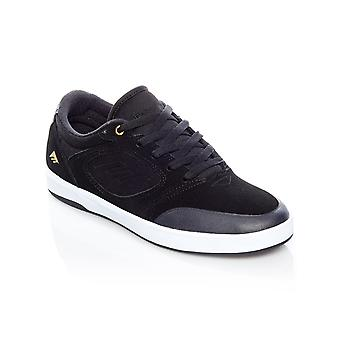 Emerica Black-White-Gold Dissent Shoe