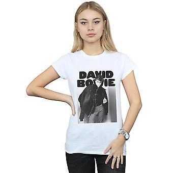 David Bowie dames jas foto T-Shirt