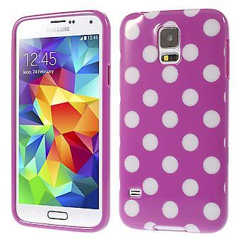 Housse pour mobile Samsung Galaxy S5 / S5 neo pourpre / violet