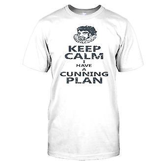 Zachowaj spokój mam chytry Plan dla dzieci T Shirt