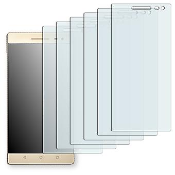 Lenovo PHAB 2 Pro display protector - Golebo Semimatt protector (deliberately smaller than the display, as this is arched)