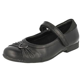 Piger Clarks formel/skole sko Dolly hjerte