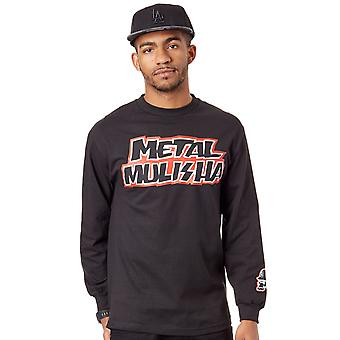 Metal Mulisha Black Stick Up Long Sleeved T-Shirt