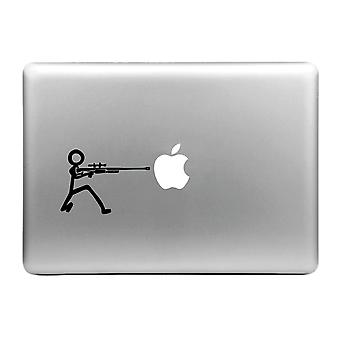 Hut-Prinz stilvolle Decal Sticker/Pro-Gunner Macbook Air