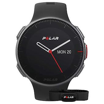 Polar Vantage V (com cinta HR) Black GPS Polidesportivo do treinamento 90069634 Watch